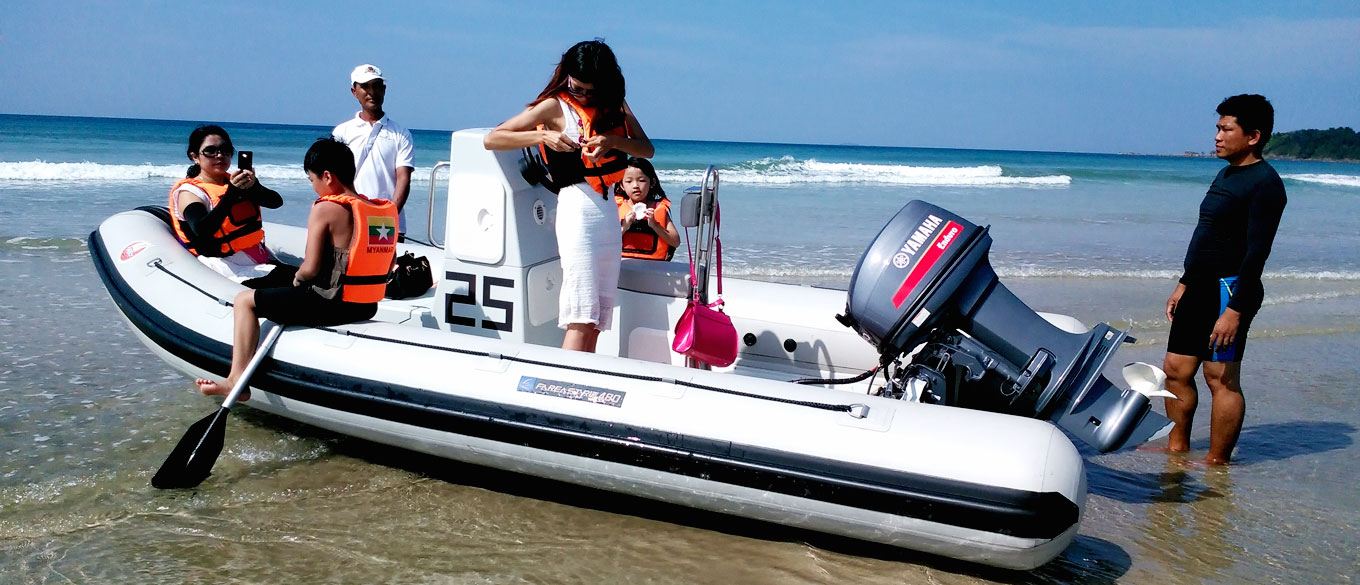 Motorised Boat Tours